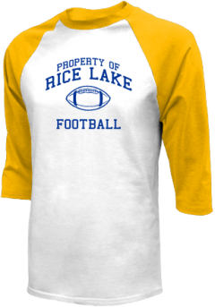 Rice Lake High School Raglan Shirts