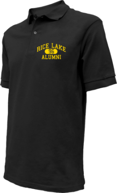 Rice Lake High School Embroidered Polo Shirts