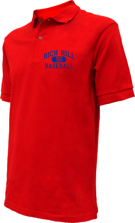 Rich Hill High School Embroidered Polo Shirts