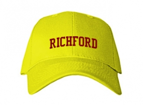 Richford Elementary School Kid Embroidered Baseball Caps