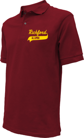 Richford Elementary School Embroidered Polo Shirts