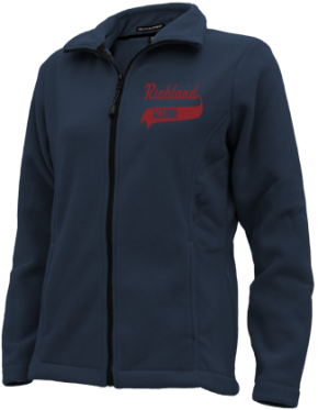 Richland High School Embroidered Fleece Jackets
