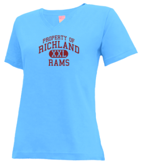 Richland High School V-neck Shirts