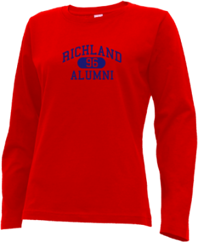 Richland High School Long Sleeve Shirts