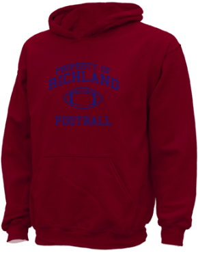 Richland High School Kid Hooded Sweatshirts
