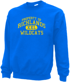 Richlands High School Sweatshirts