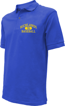 Richlands High School Embroidered Polo Shirts