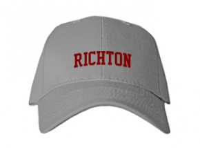 Richton High School Kid Embroidered Baseball Caps
