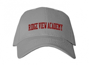 Ridge View Academy High School Kid Embroidered Baseball Caps