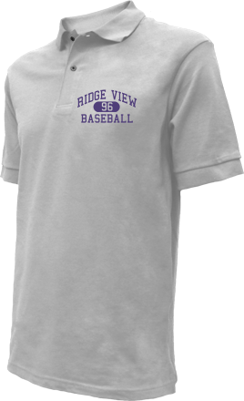 Ridge View High School Embroidered Polo Shirts