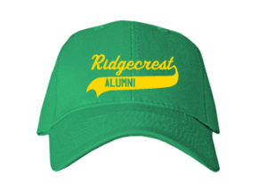 Ridgecrest Elementary School Embroidered Baseball Caps