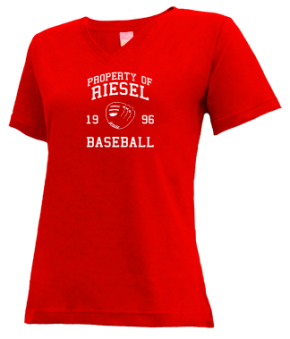 Riesel High School V-neck Shirts