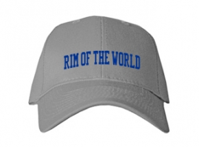 Rim Of The World High School Kid Embroidered Baseball Caps