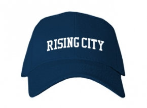 Rising City High School Kid Embroidered Baseball Caps