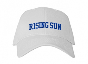 Rising Sun High School Kid Embroidered Baseball Caps