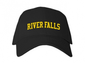 River Falls High School Kid Embroidered Baseball Caps