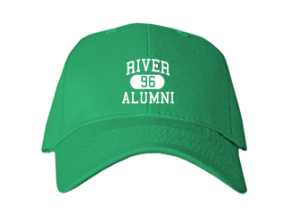 River Middle School Embroidered Baseball Caps