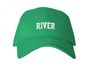 River Middle School Kid Embroidered Baseball Caps