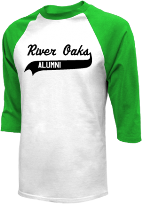 River Oaks Middle School Raglan Shirts