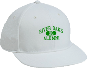 River Oaks Middle School Flat Visor Caps
