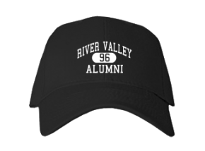 River Valley High School Embroidered Baseball Caps
