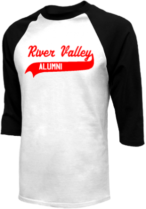 River Valley Middle School Raglan Shirts