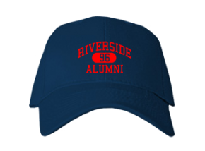 Riverside Elementary West School Embroidered Baseball Caps