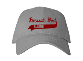 Riverside West Elementary School Embroidered Baseball Caps