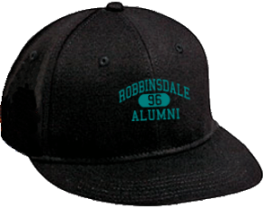 Robbinsdale Middle School Flat Visor Caps