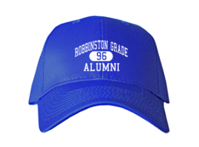 Robbinston Grade School Embroidered Baseball Caps