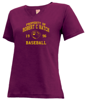Robert C Hatch High School V-neck Shirts