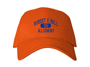 Robert E Bell Middle School Embroidered Baseball Caps