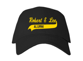 Robert E Lee Junior High School Embroidered Baseball Caps