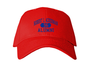 Robert L Ackerman Elementary School Embroidered Baseball Caps