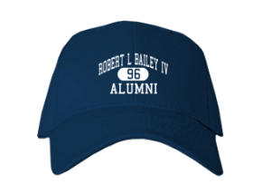 Robert L Bailey Iv Elementary School Embroidered Baseball Caps