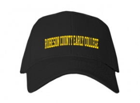Robeson County Early College High School Kid Embroidered Baseball Caps