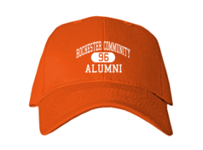 Rochester Community High School Embroidered Baseball Caps