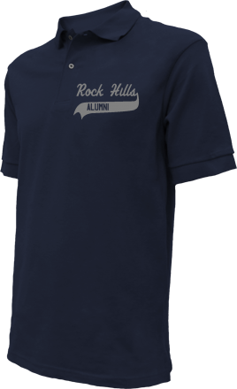 Rock Hills Elementary School Embroidered Polo Shirts