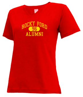 Rocky Ford High School V-neck Shirts