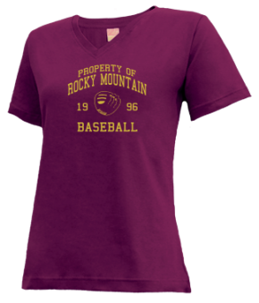Rocky Mountain High School V-neck Shirts