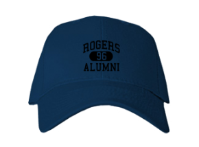 Rogers High School Embroidered Baseball Caps