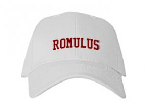 Romulus High School Kid Embroidered Baseball Caps