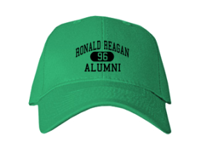 Ronald Reagan Elementary School Embroidered Baseball Caps