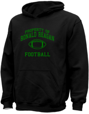 Ronald Reagan Elementary School Kid Hooded Sweatshirts