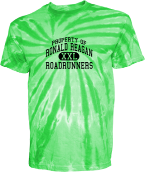 Ronald Reagan Elementary School Kid Tie-dye T-Shirts