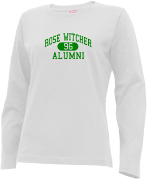 Rose Witcher Elementary School Long Sleeve Shirts