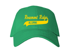 Rosemont Ridge Middle School Embroidered Baseball Caps