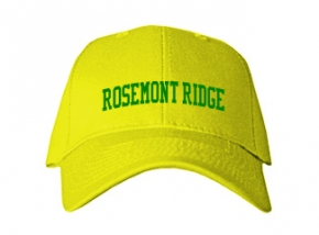 Rosemont Ridge Middle School Kid Embroidered Baseball Caps