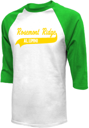 Rosemont Ridge Middle School Raglan Shirts