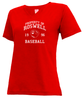 Roswell High School V-neck Shirts